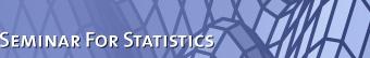 Seminar for Statistics